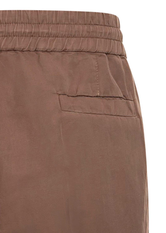 Cotton Linen Drawstring Pants image number 3