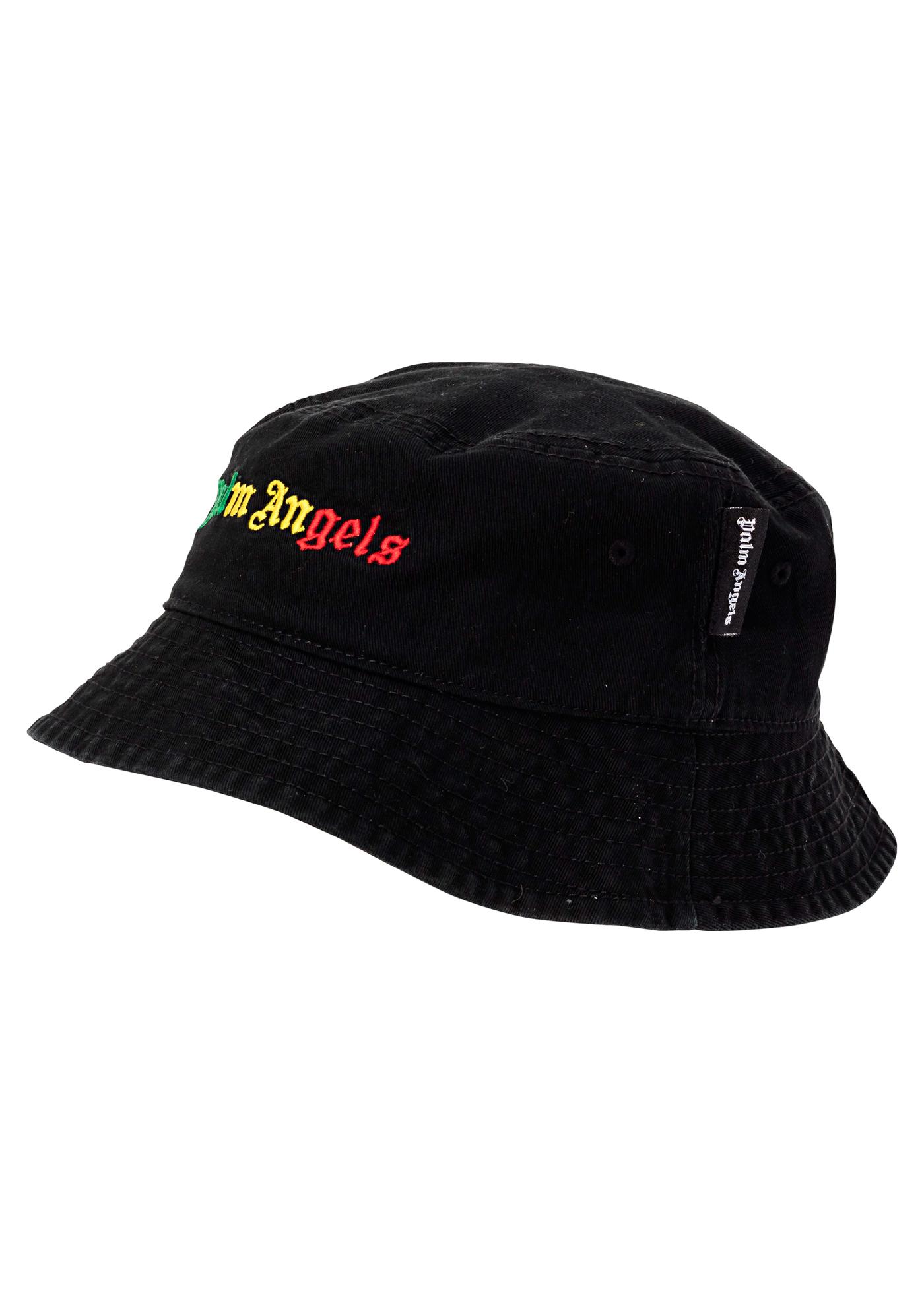 MIAMI LOGO BUCKET HAT BLACK MULTICOLOR image number 0