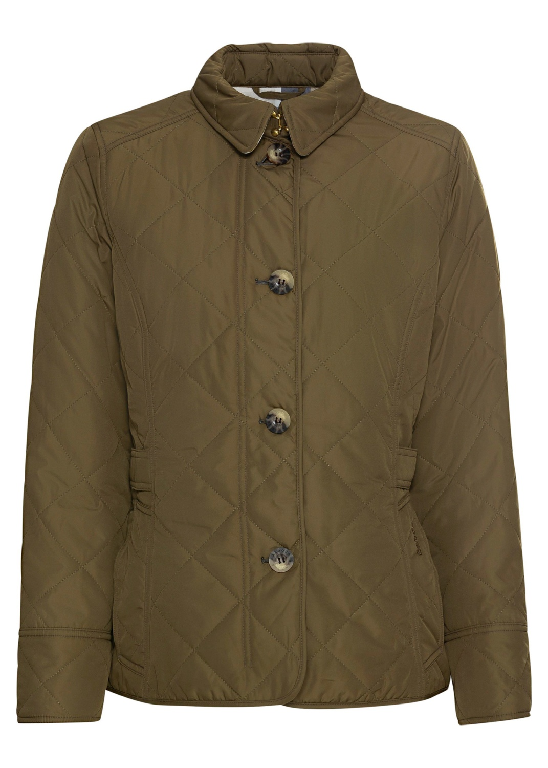 Barbour Nelson Quilt   Olive/O image number 0