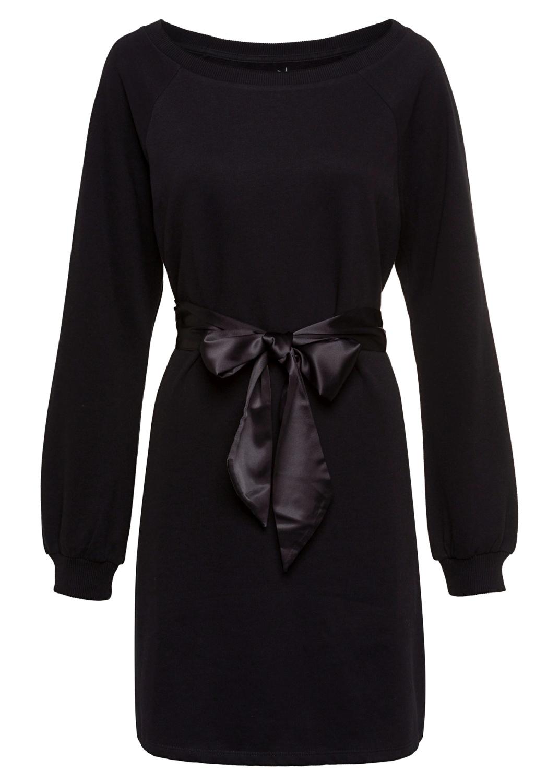 Fleece Dress with Sa image number 0