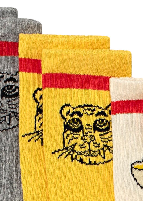 Tiger 3 pack socks image number 3