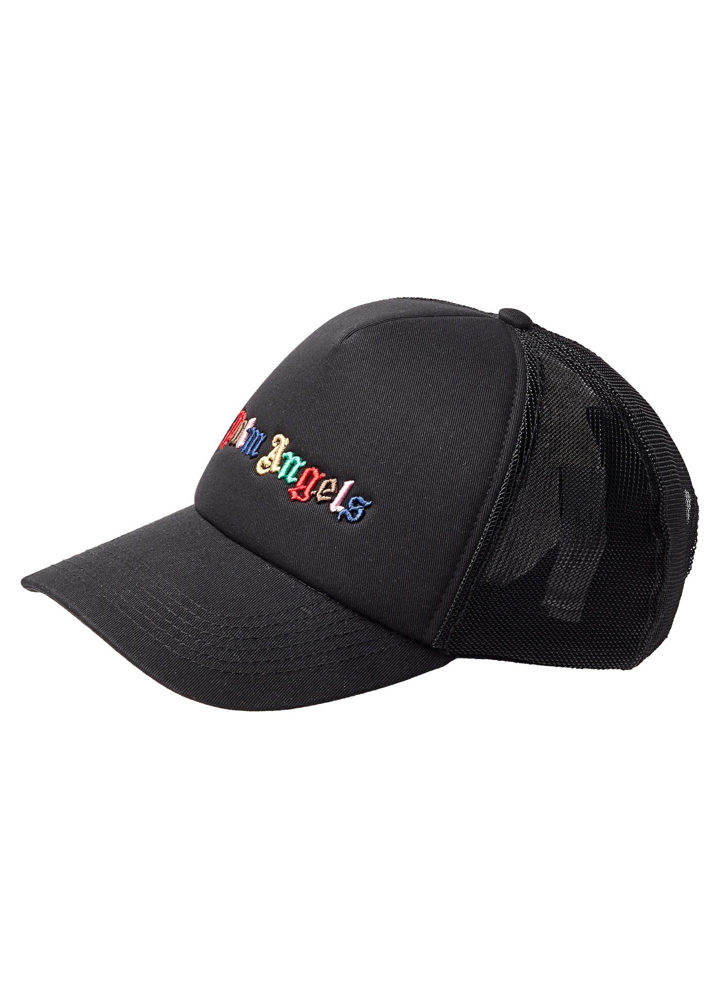 RAINBOW LOGO CAP  BLACK MULTICOLOR image number 0