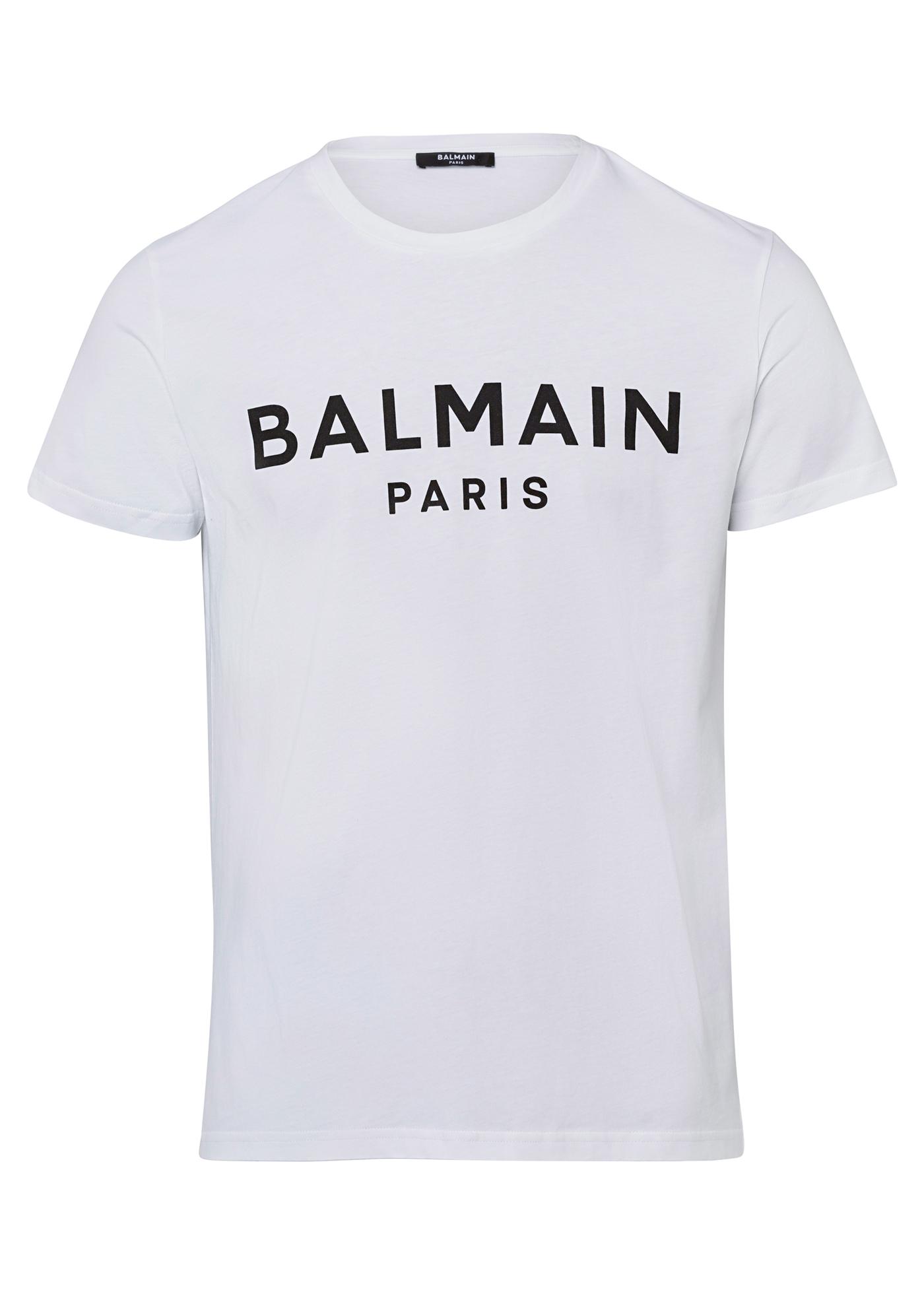 BALMAIN PRINTED T-SHIRT image number 0