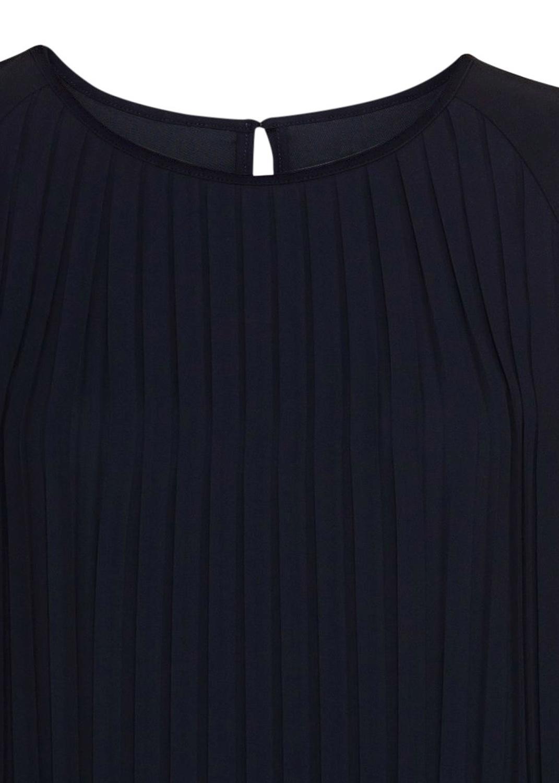 Langarm-Plissee-Kleid image number 2