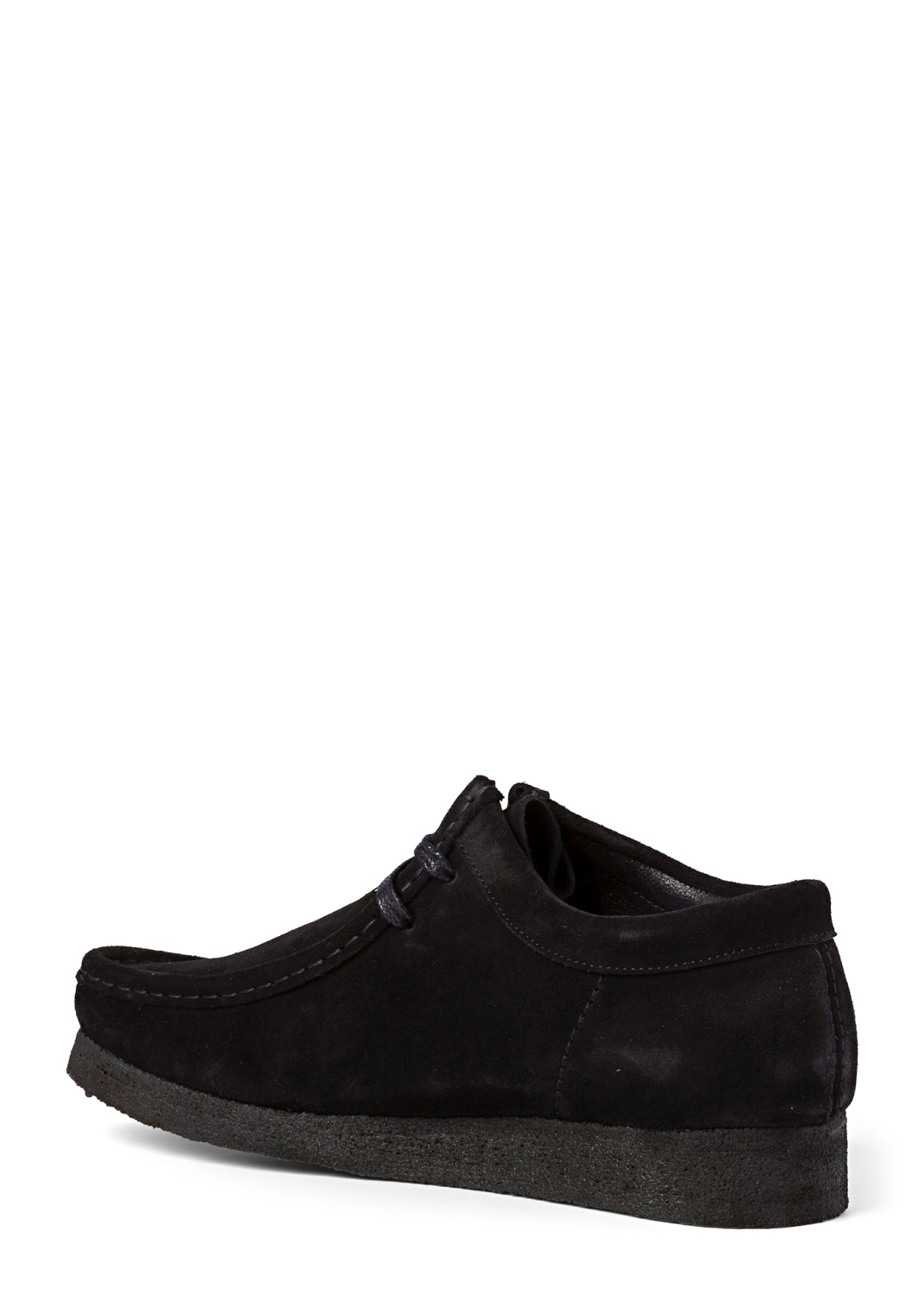 WALLABEE SUEDE  BLACK WHITE image number 2