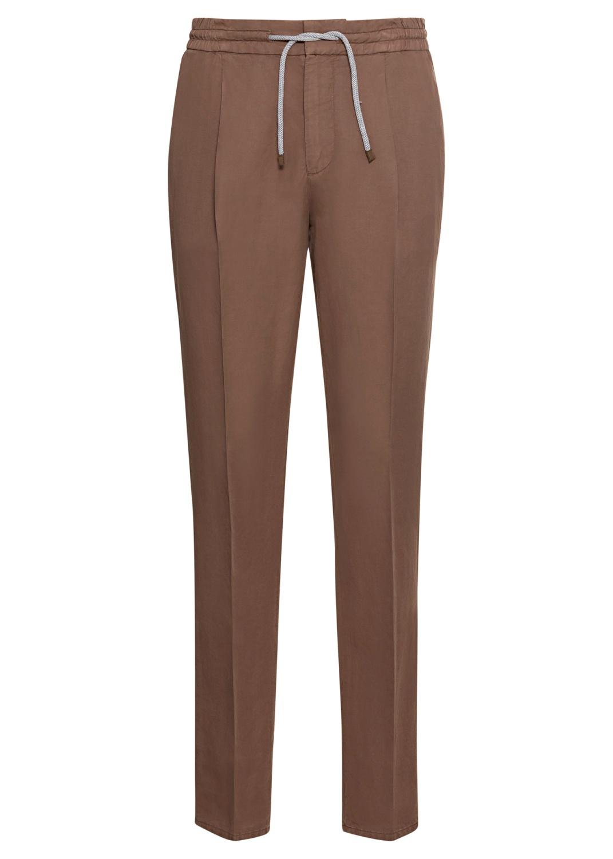 Cotton Linen Drawstring Pants image number 0