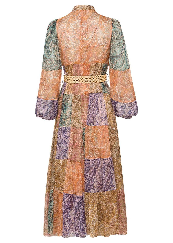 Brighton Tiered Midi Dress image number 1