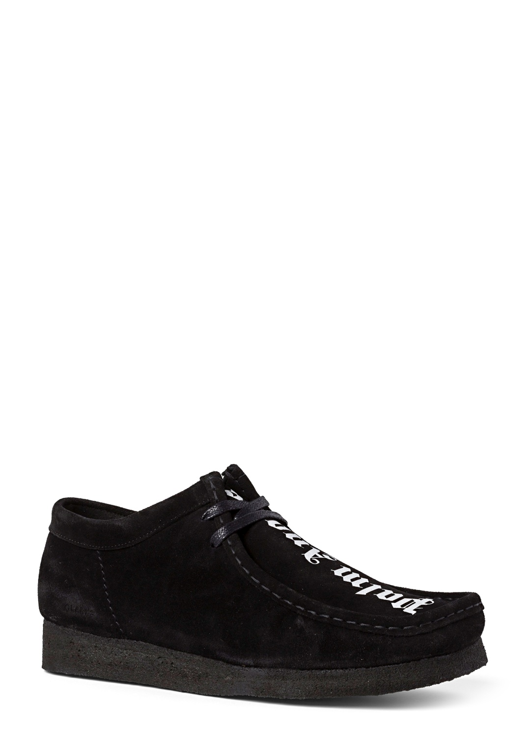 WALLABEE SUEDE  BLACK WHITE image number 1