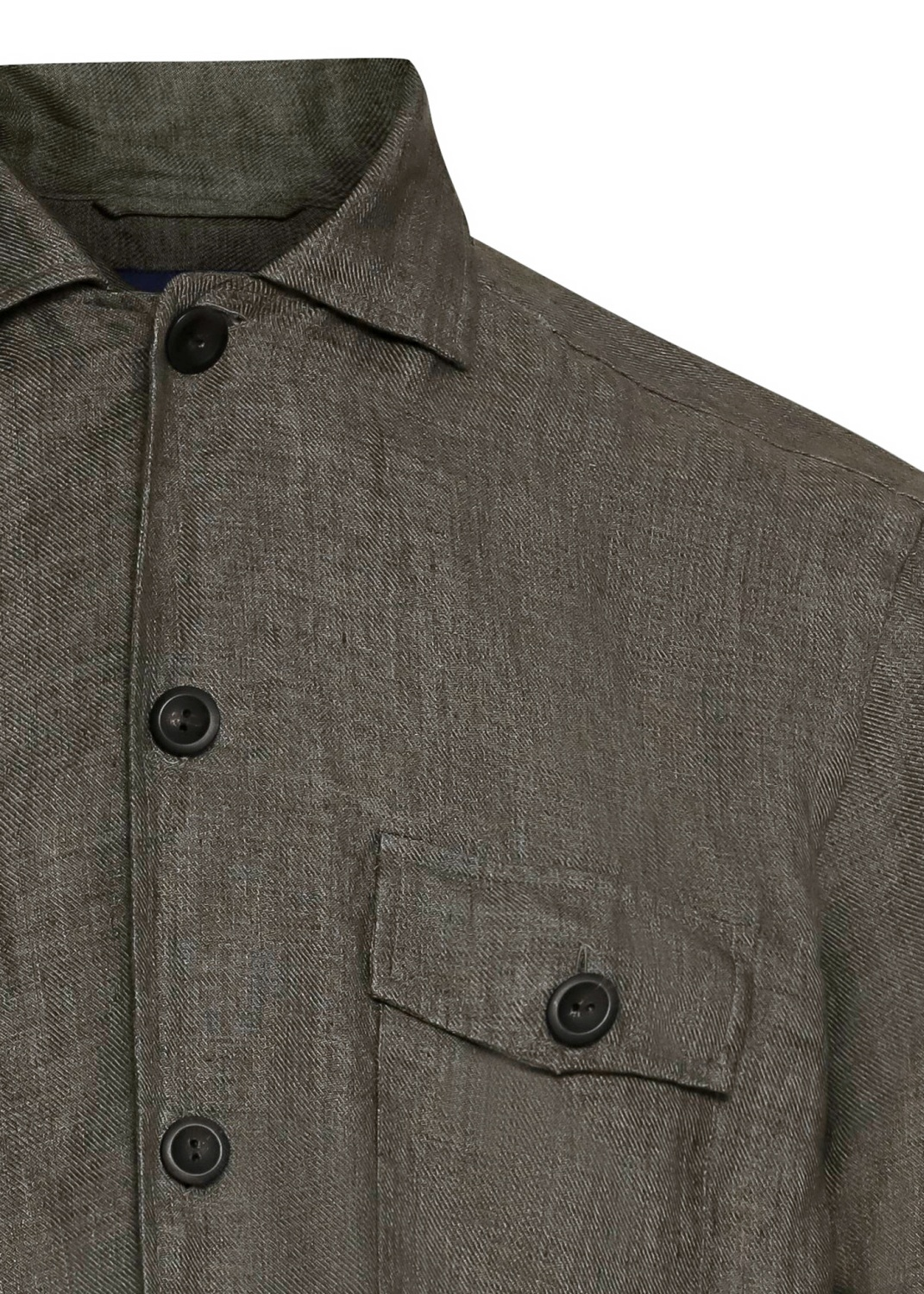 1000020886809 Men shirt: Casual / Linen Twill image number 2