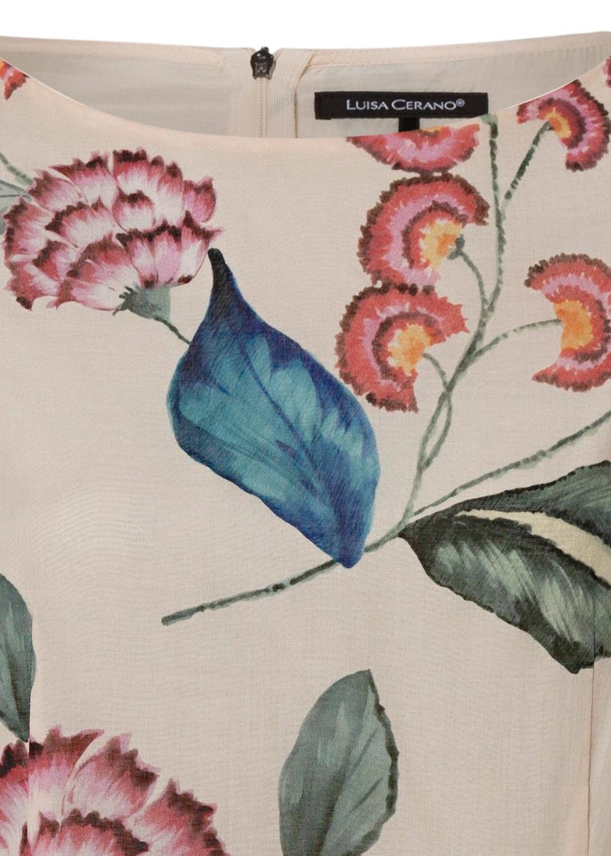 Shiftkleid mit Flower-Print image number 2