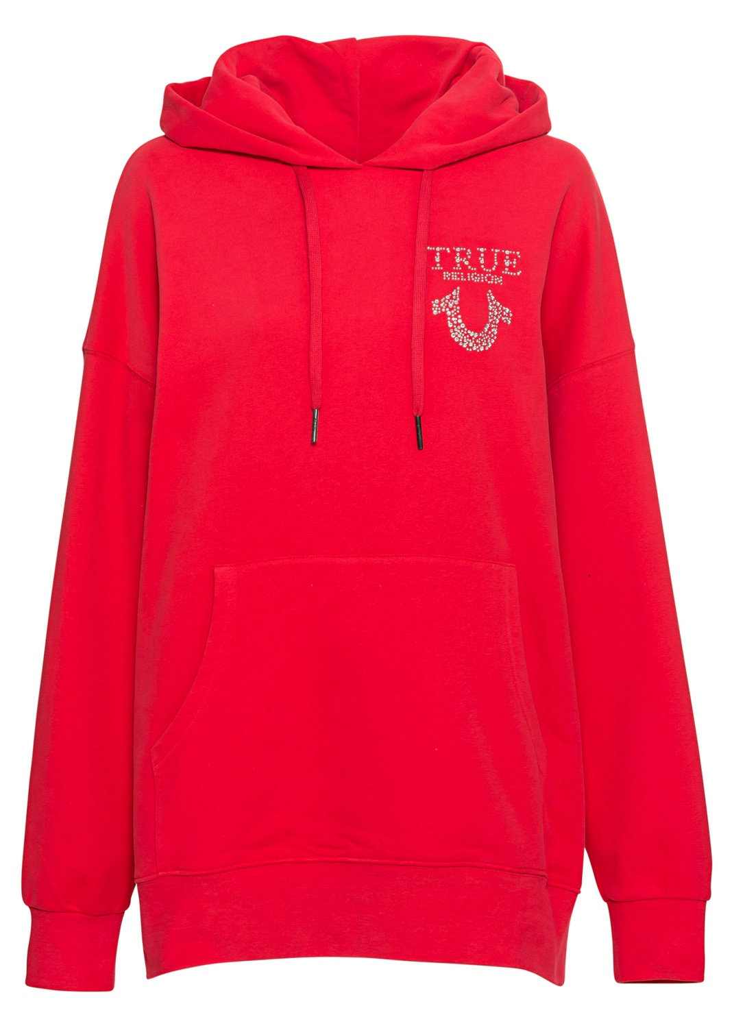 HOODY OVERSIZED RED image number 0