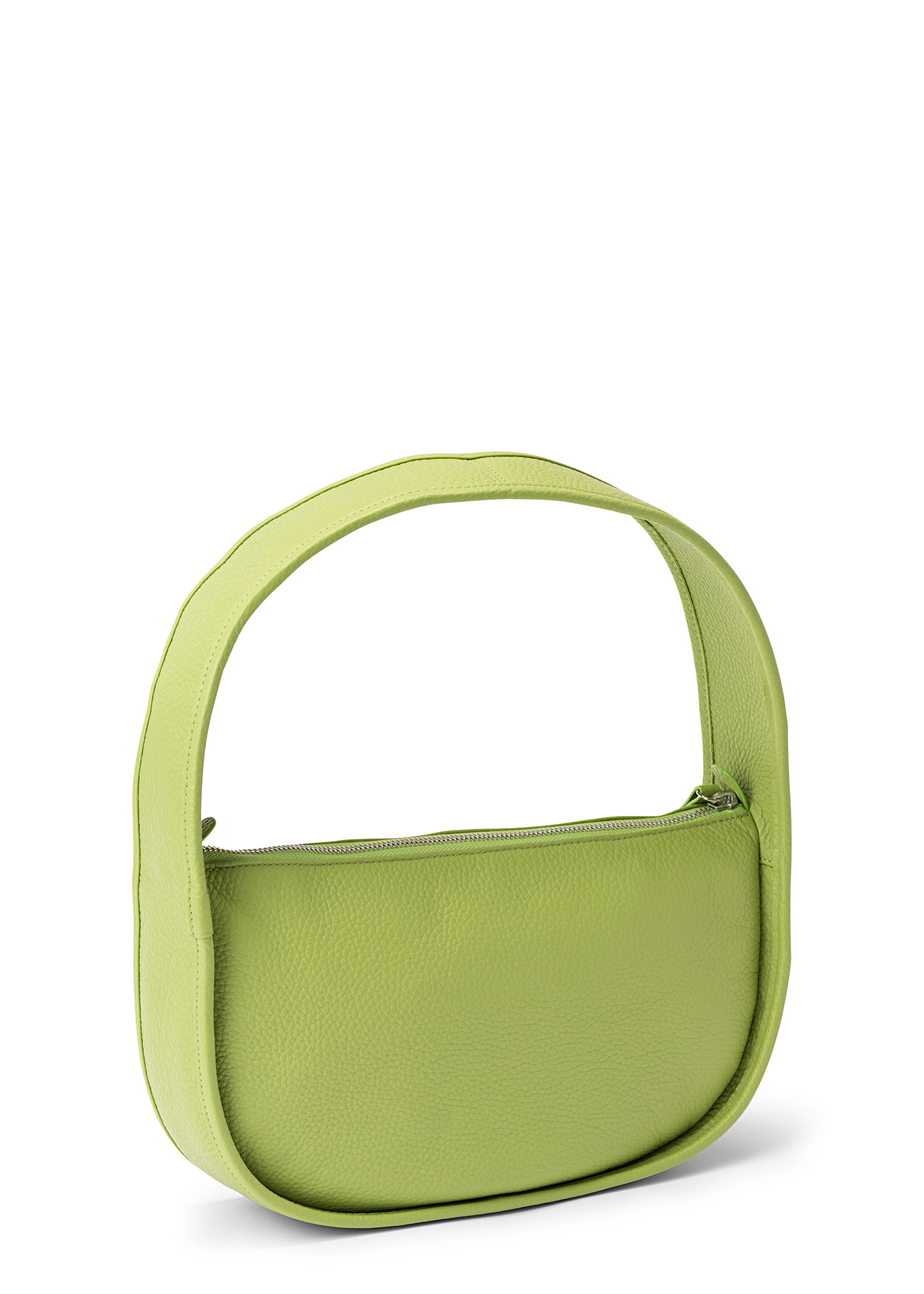 Mechi Lime Green Flat Grain Leather image number 1