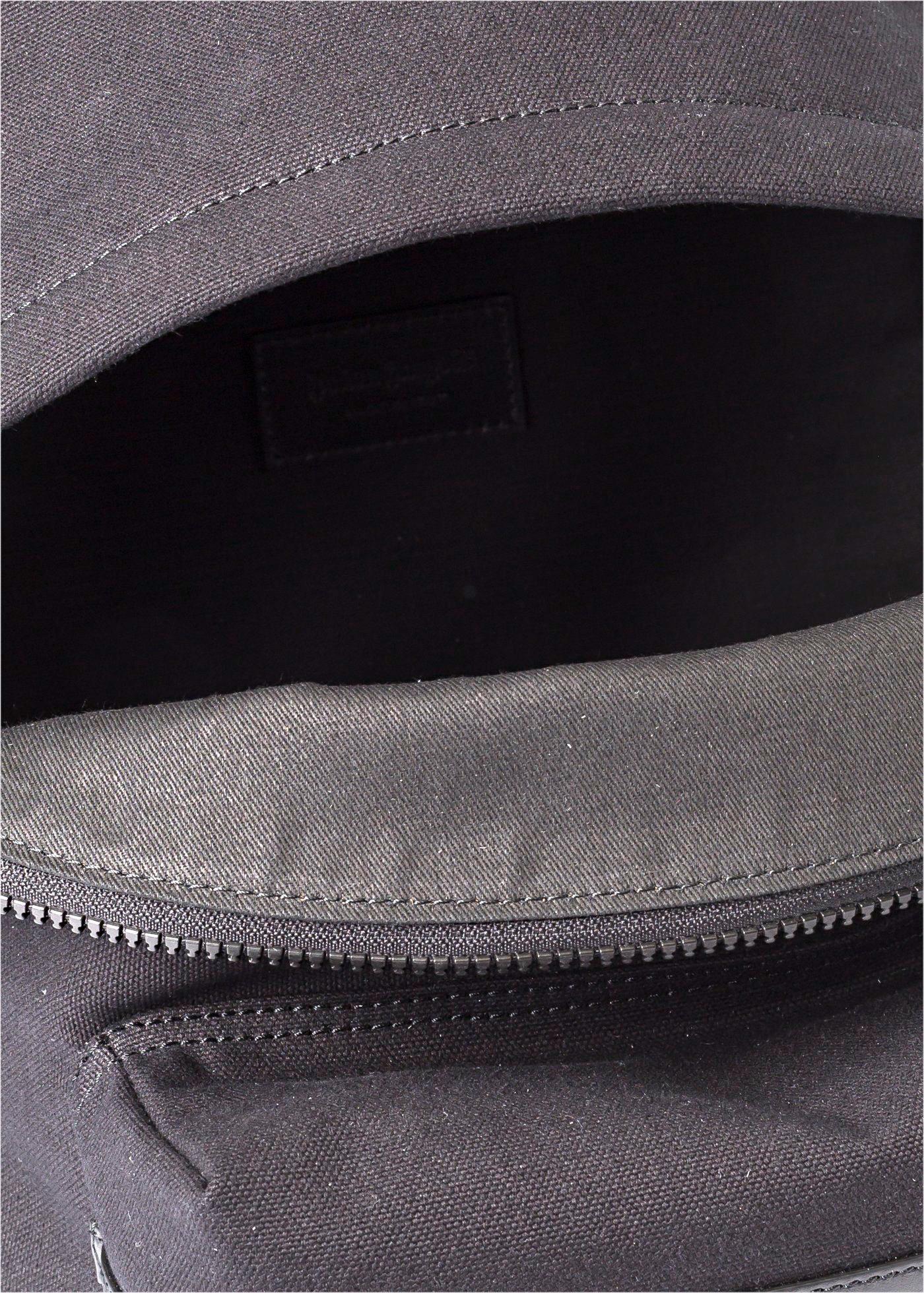 CLASSIC LOGO BACKPACK BLACK SILVER image number 3