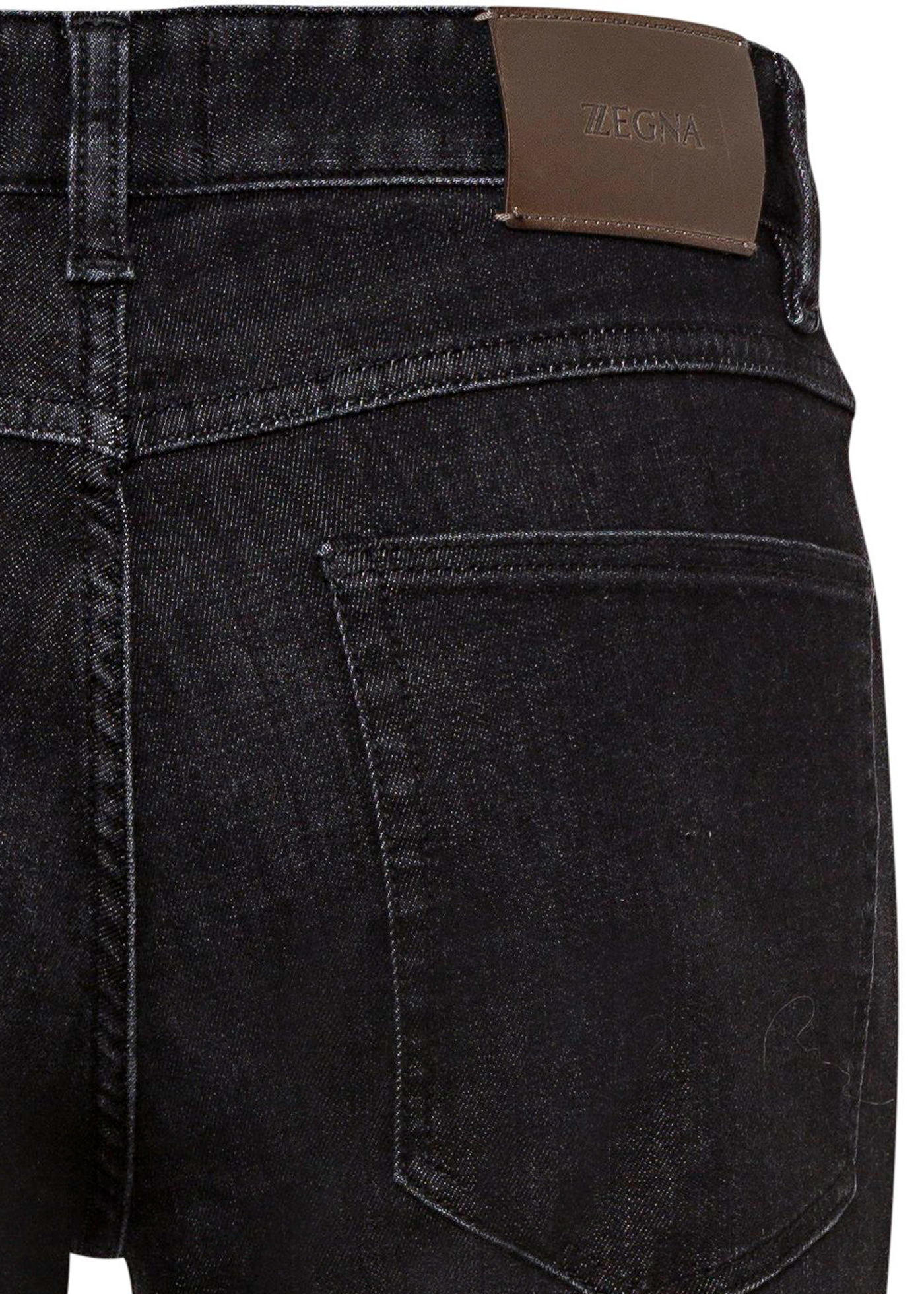 LUXE TWILL BLACK DENIM image number 3