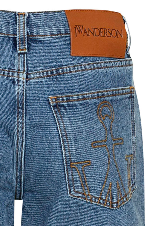 Raw Hem Slim Jeans image number 3