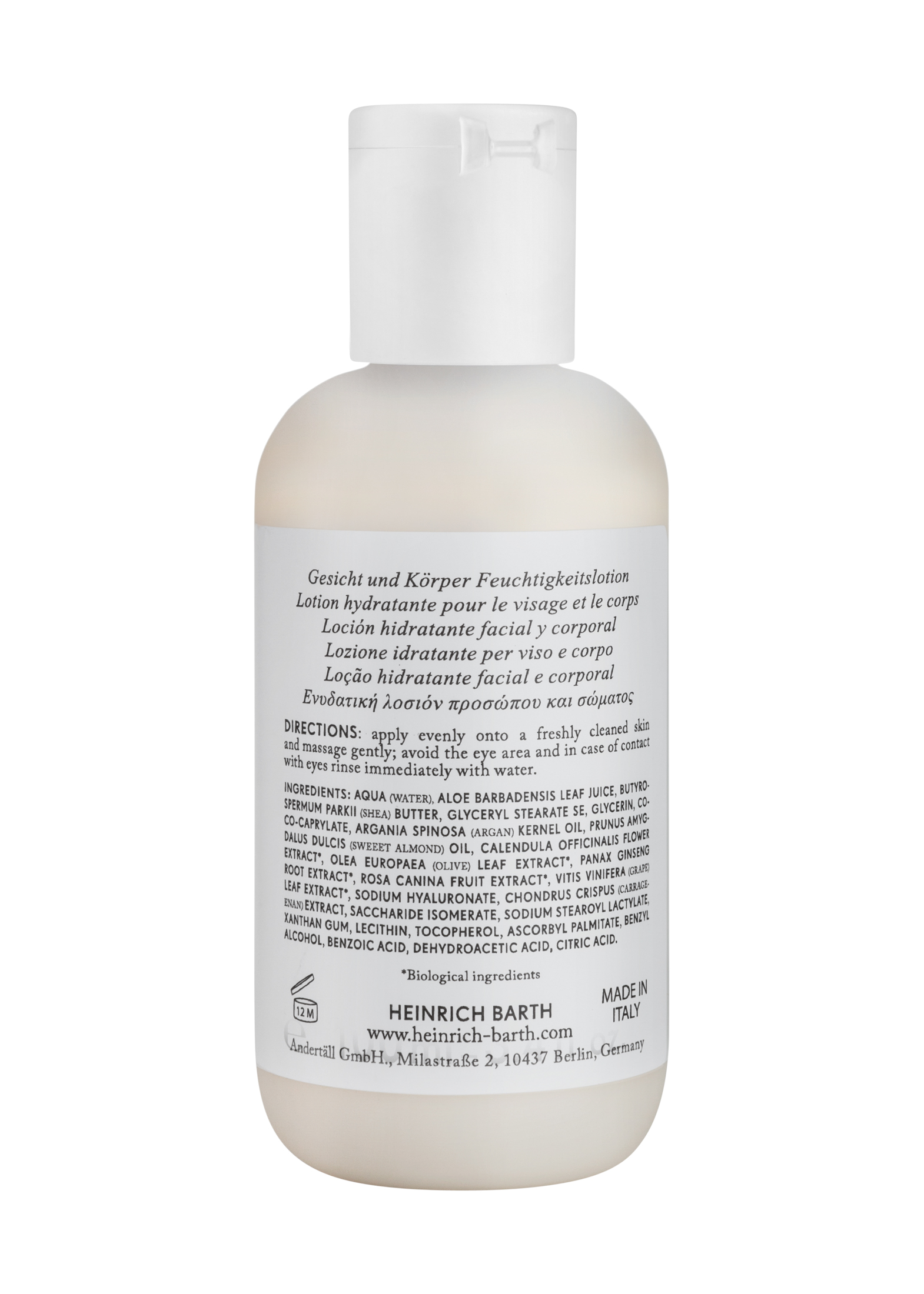 Face & Body Moisturising Lotion image number 1