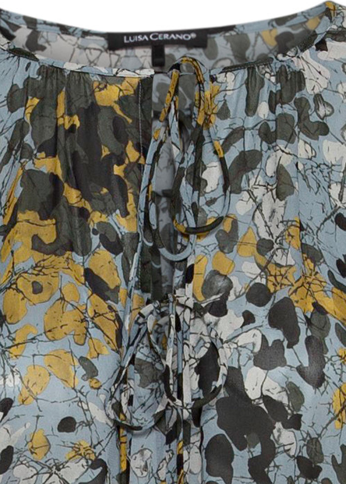 Midi-Kleid Camouflage-Print image number 2