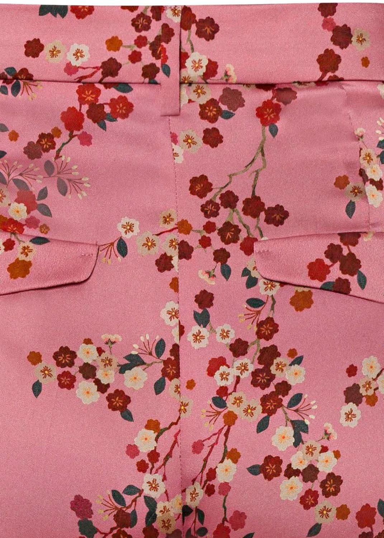 Hose mit Kirschblüten-Print image number 3