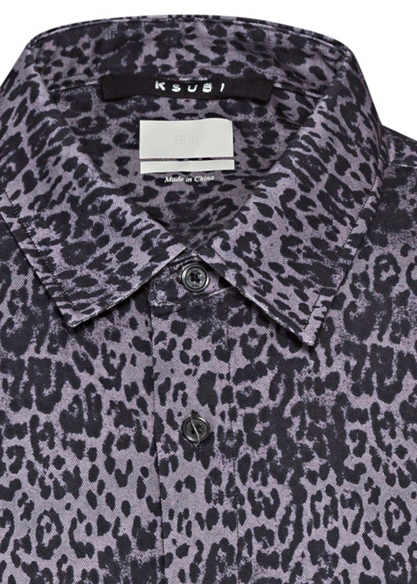 jungle ss shirt black leopard image number 2