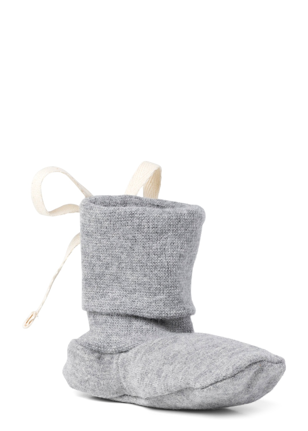 Baby Ribbed Booties image number 1