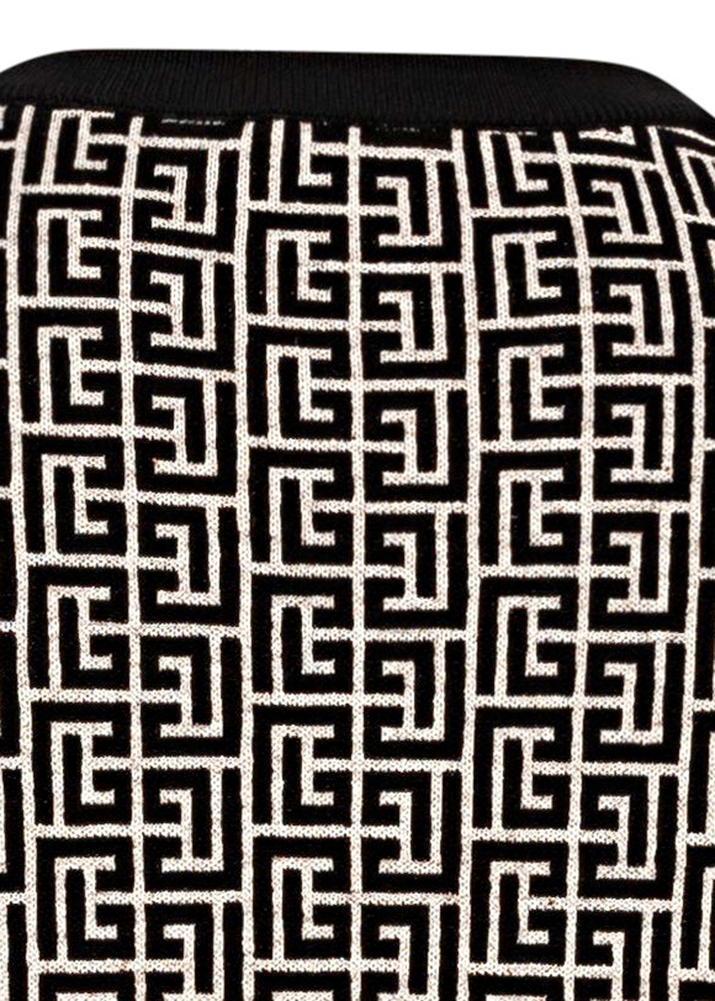 MONOGRAM WOOL LINEN PULLOVER image number 3