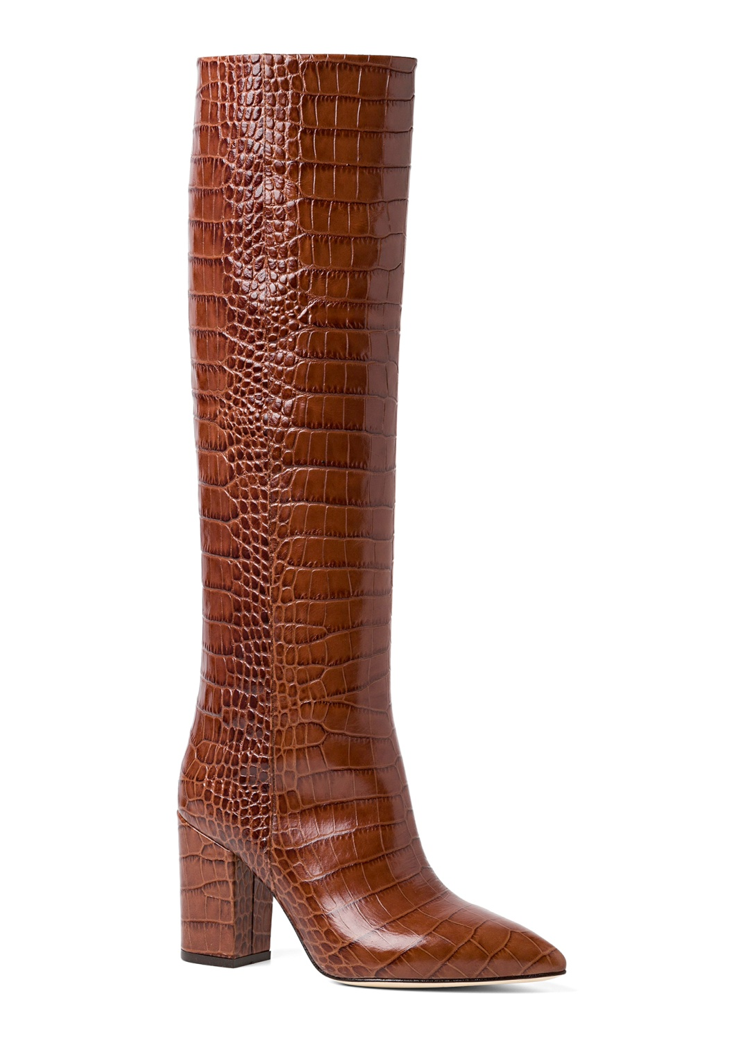 Tall Boot Snake Print 80mm image number 1