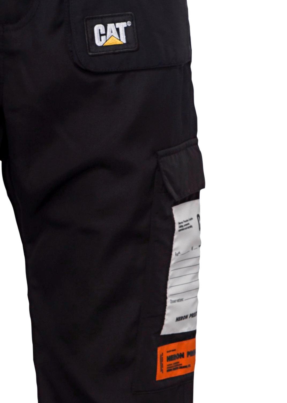 CAT POCKET PANTS BLACK image number 2