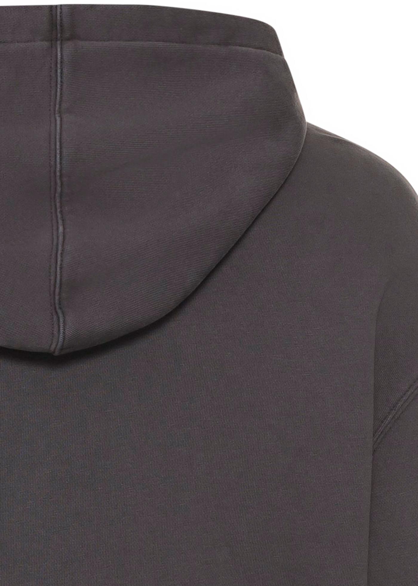 university biggie hoodie faded black image number 3