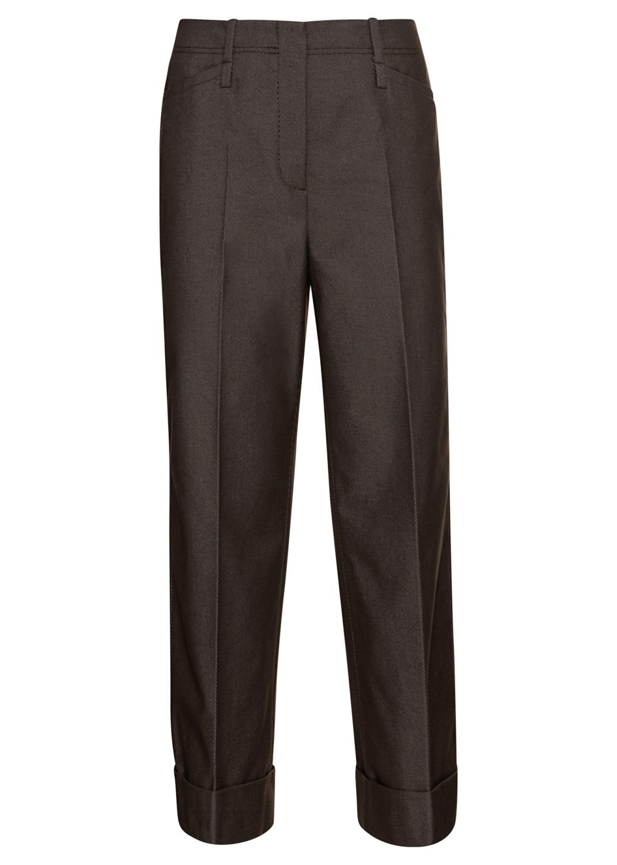 Gabardine-Wideleg-Pants image number 0