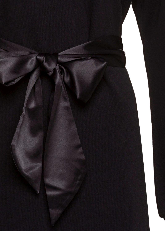 Fleece Dress with Sa image number 2