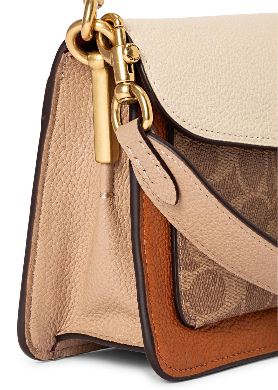 coated canvas signature tabby shoulder bag 26 image number 2