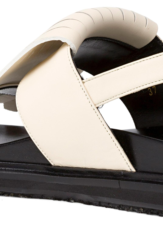 5_Flat Fringes Sandal Nappa image number 3