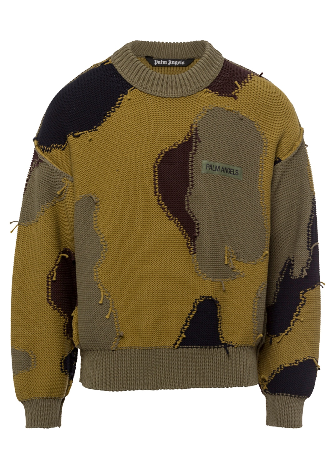 CAMO PRINTED SWEATER image number 0