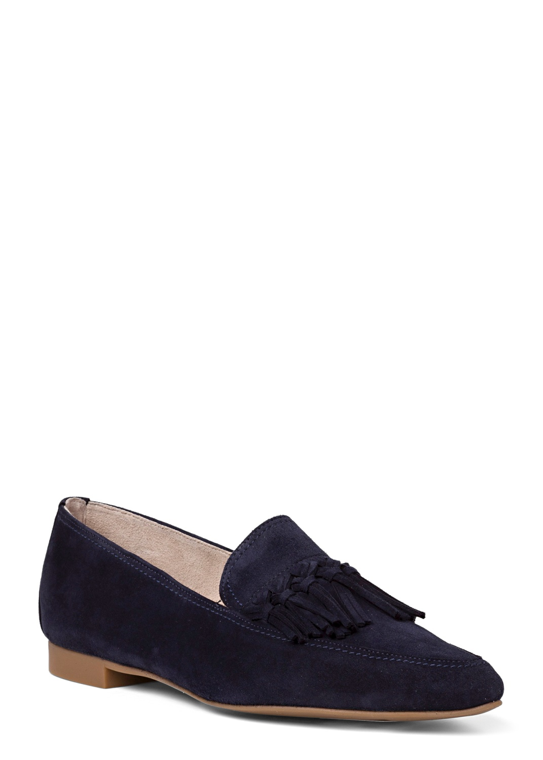 14_Pointy Loafer Tasseln Suede image number 1
