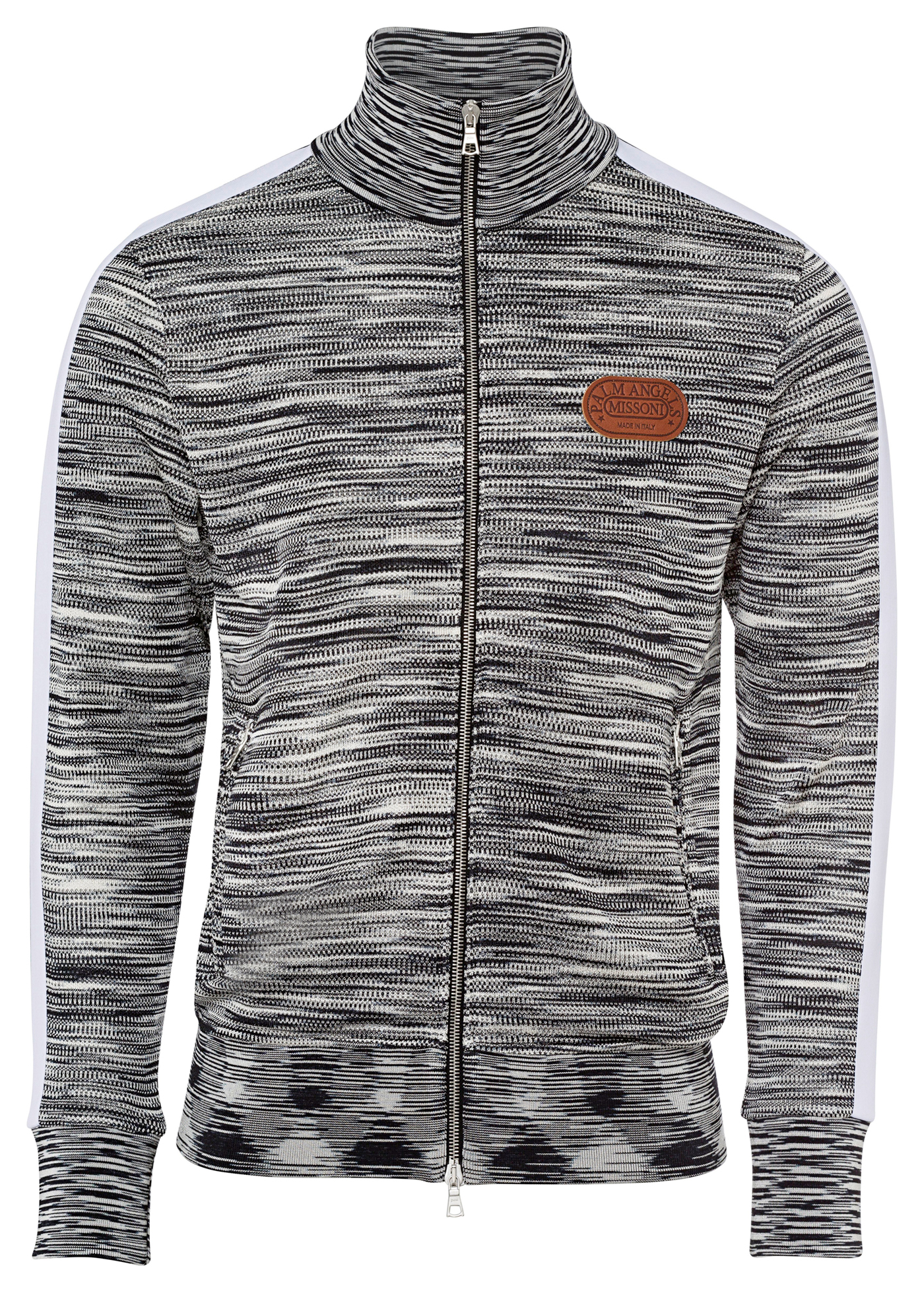 PA MISSONI KNITTED TRACK JKT image number 0