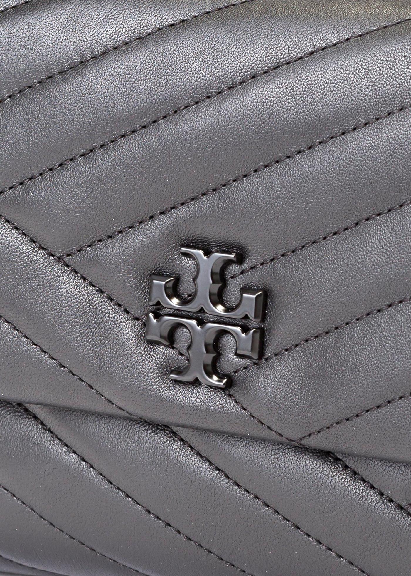 KIRA CHEVRON POWDER COATED SMALL CONVERTIBLE SHOULDER BAG image number 2