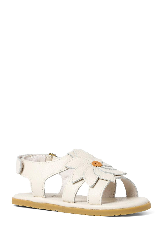 Velcro Sandal w flower image number 1