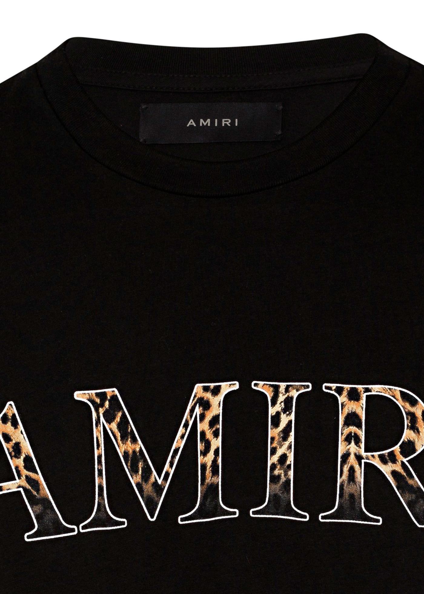 AMIRI LEOPARD TEE image number 2