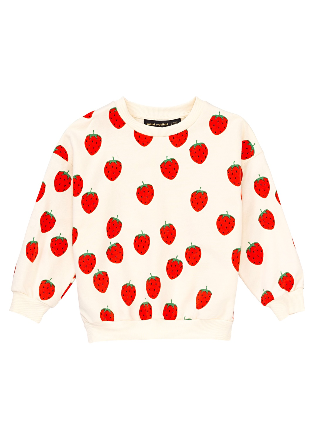 Strawberry AOP Sweater image number 4