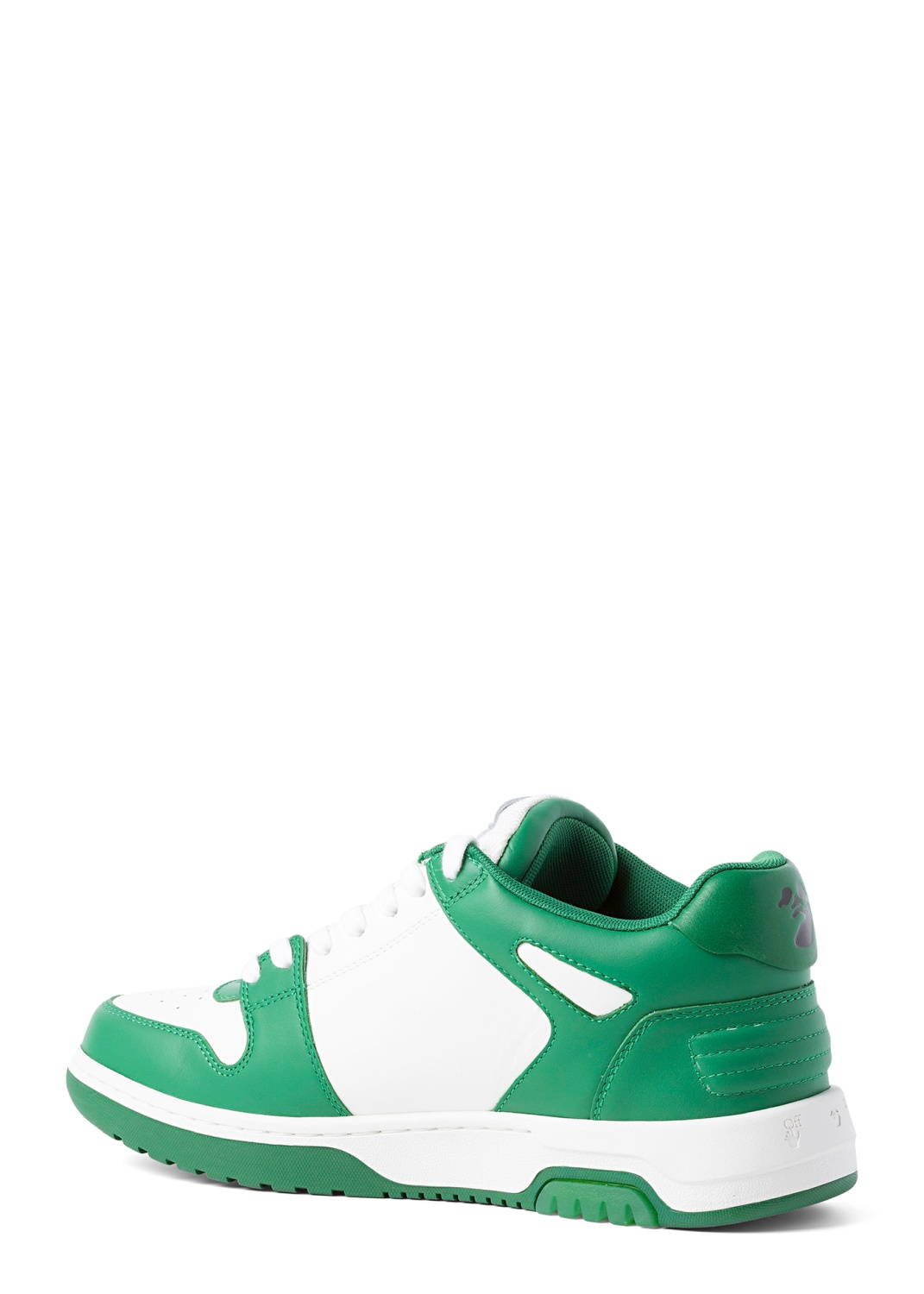 OUT OF OFFICE CALF LEATHER WHITE GREEN image number 2