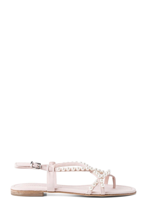 23_Elle Pearls Flat Sandal image number 0