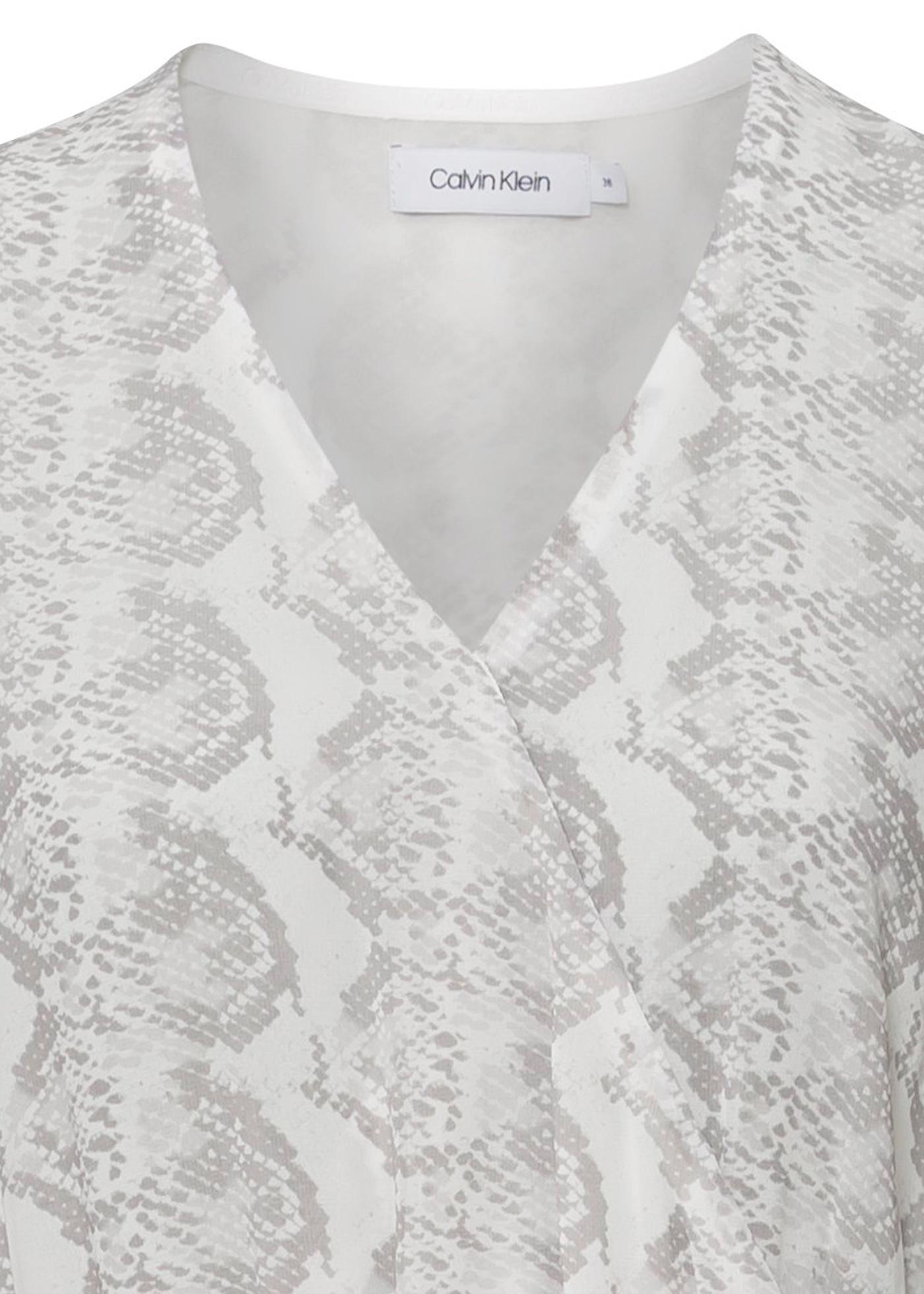 GEORGETTE LS WRAP MAXI DRESS image number 2