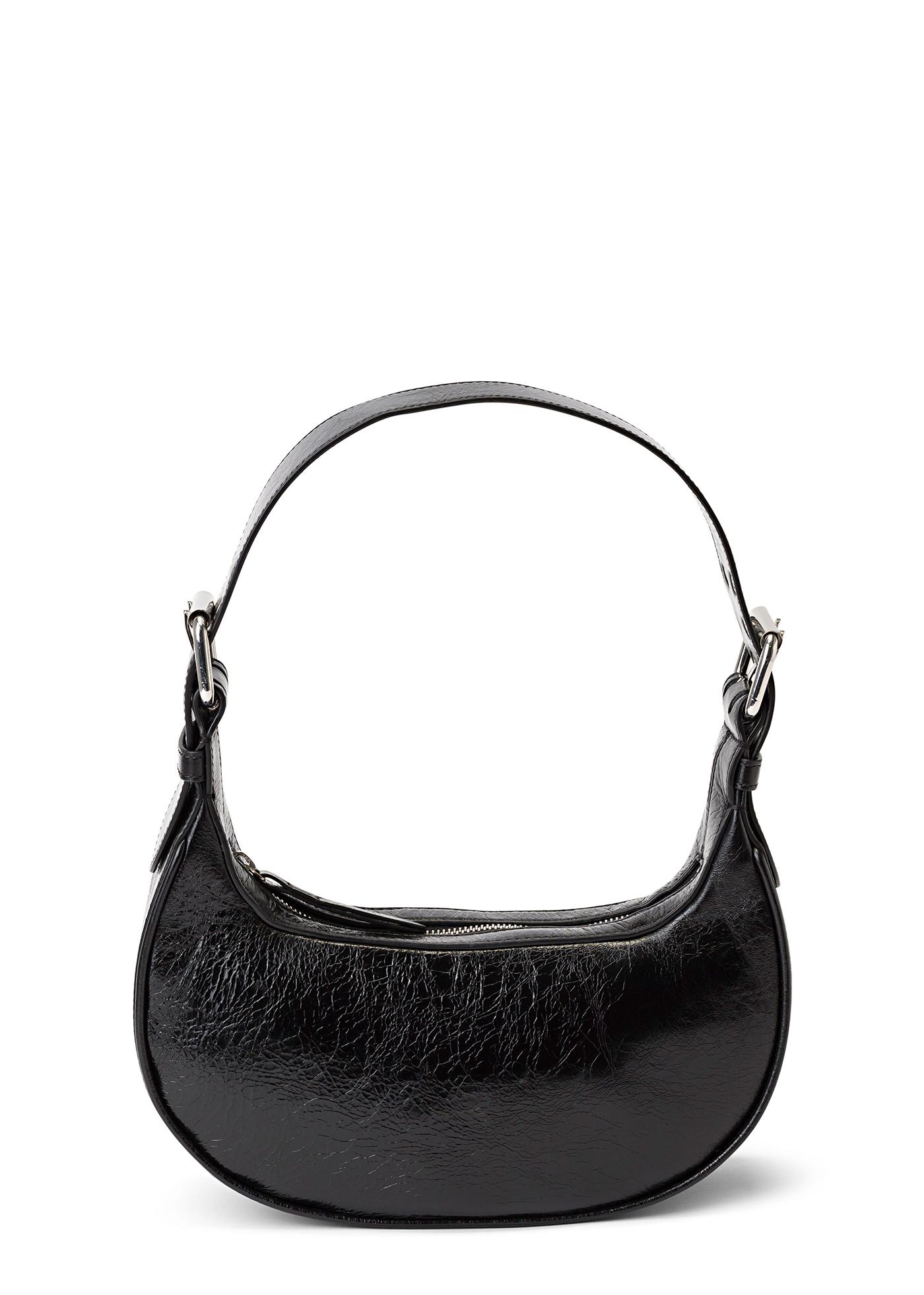 Soho Black Creased Leather image number 0