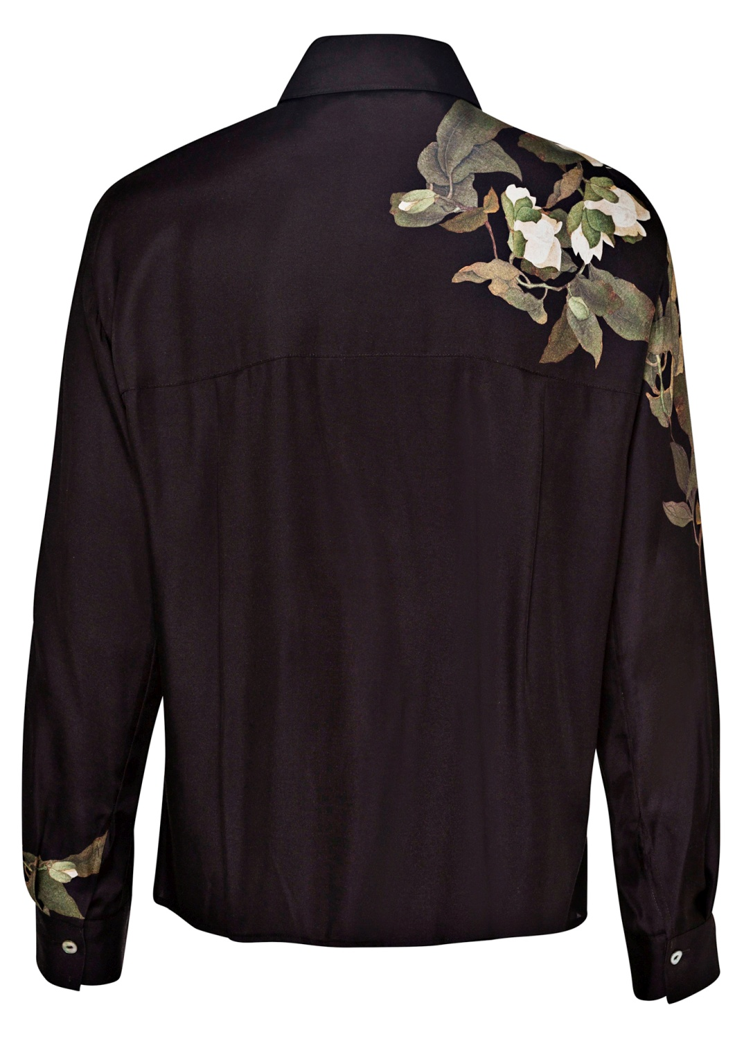 LISIANTHUS COLLARED BLOUSE image number 1