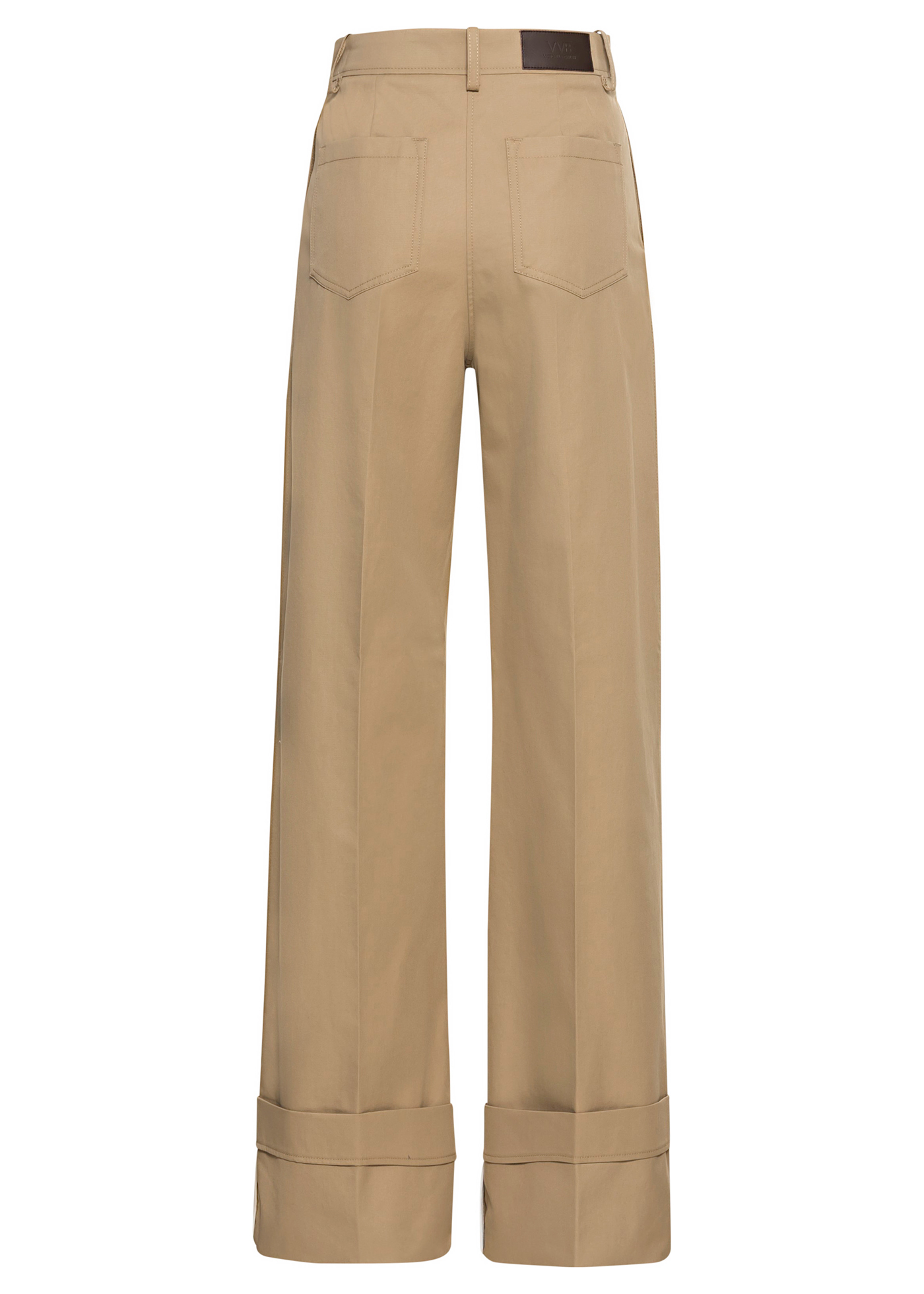 FLARED CHINO TROUSER image number 1