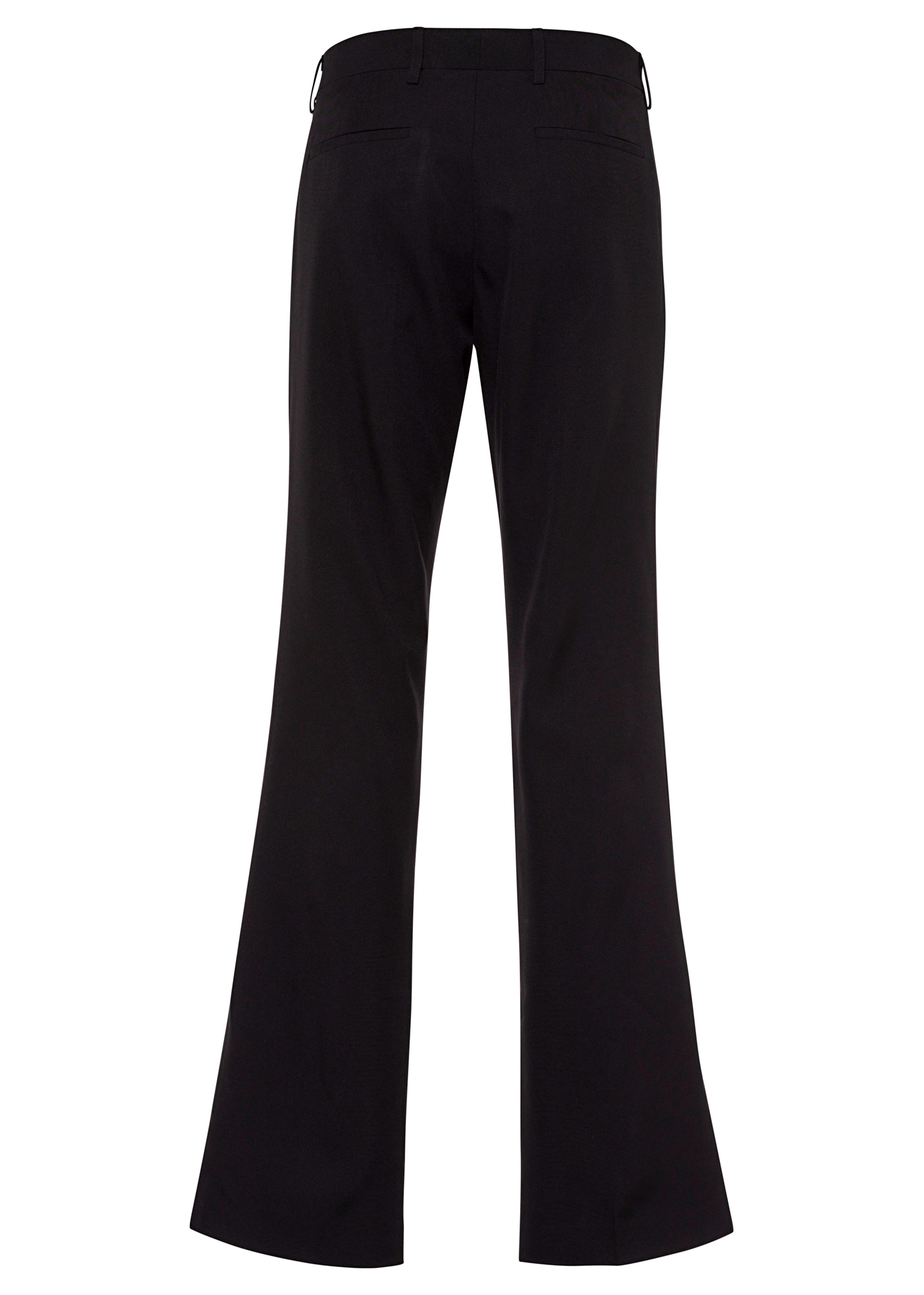 90'S NY BLACK TAILORED TROUSERS image number 1