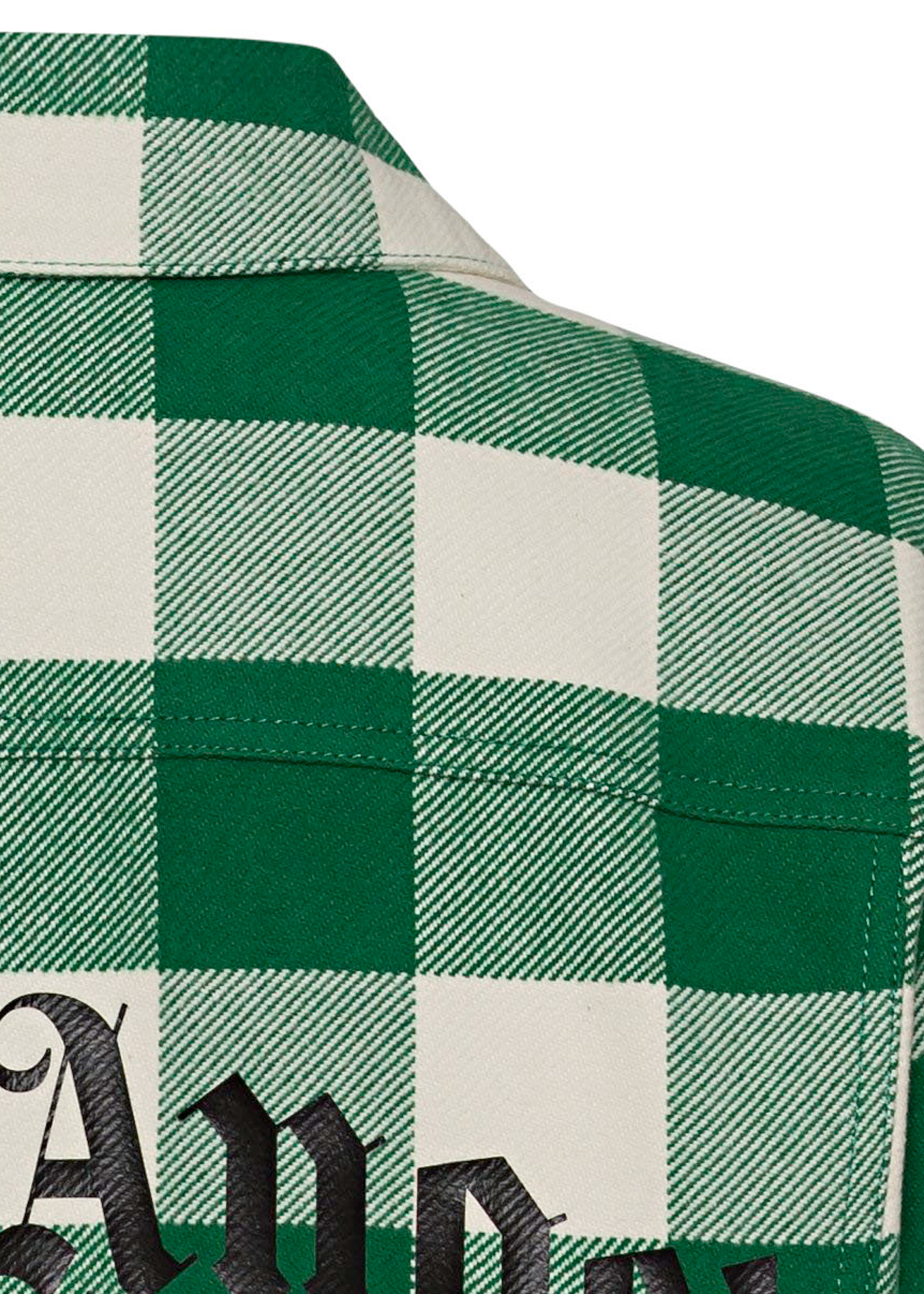 CURVED LOGO CHECK TRUCKER image number 3
