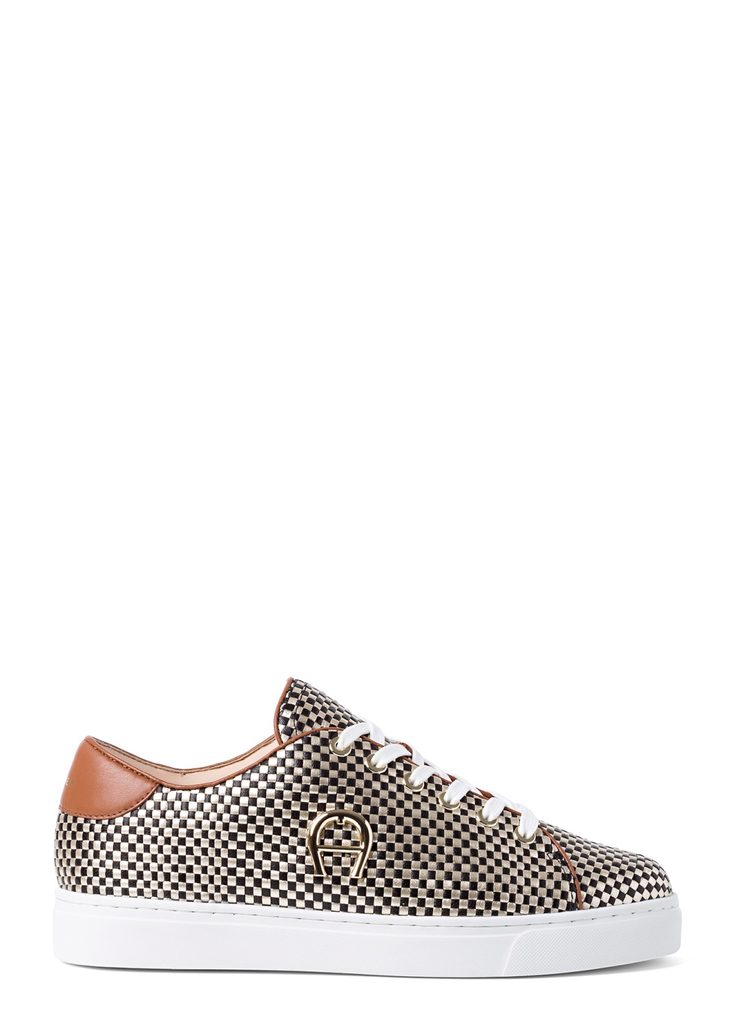 11_Bicolor Woven Sneaker image number 0