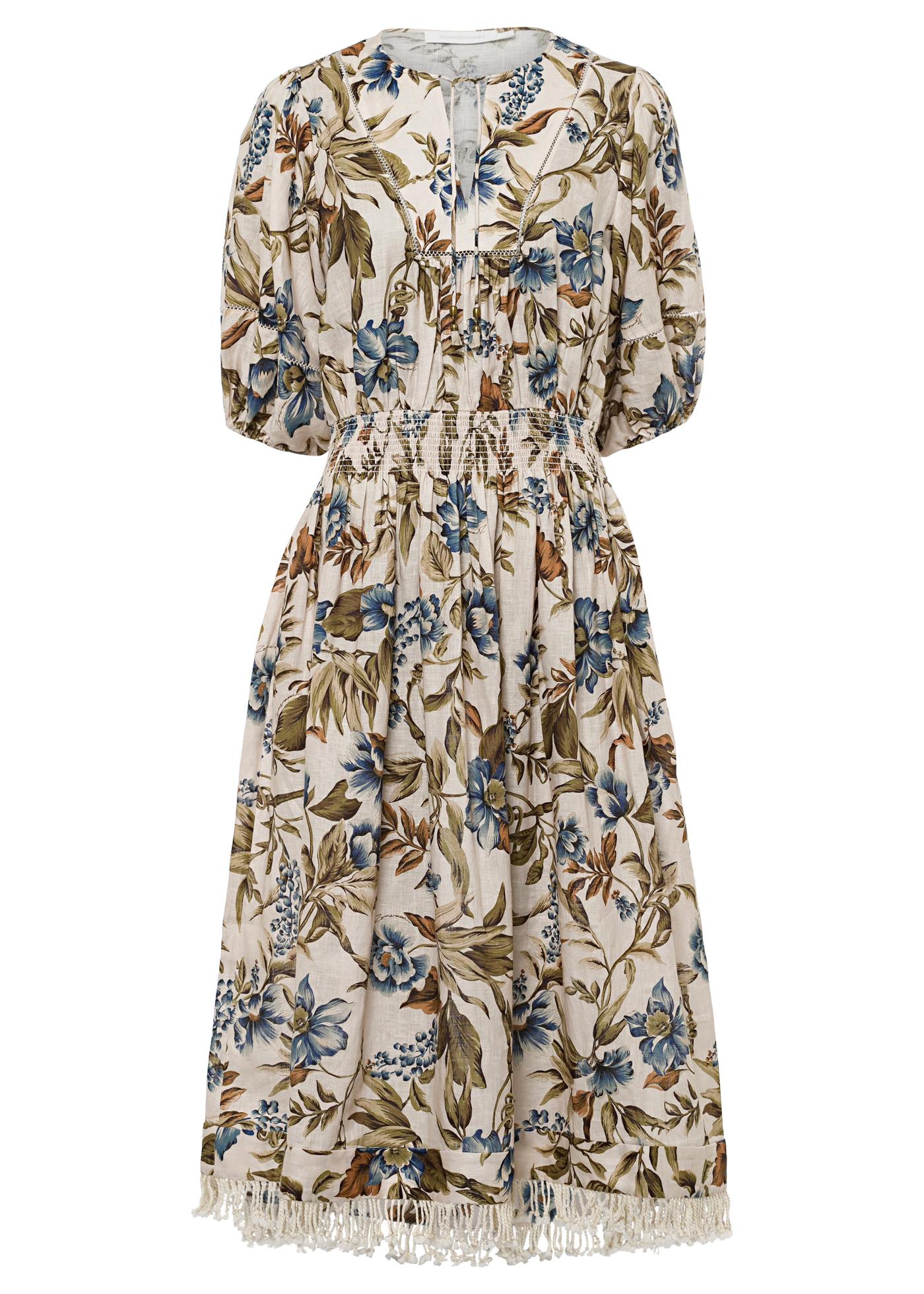 Aliane Shirred Waist Dress image number 0