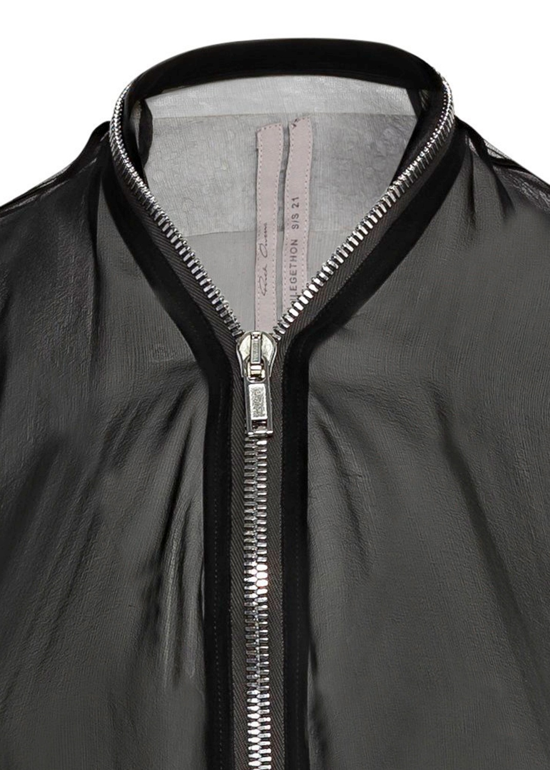SHORT ZIPPED CAPE image number 2